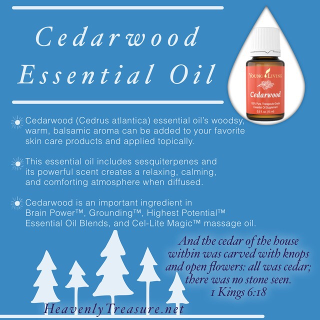 Giveaway: Cedarwood Essential Oil